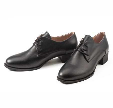 کفش چرم زنانه مدل مینا