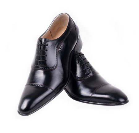 کفش مدل تاج مشکی طبیعی